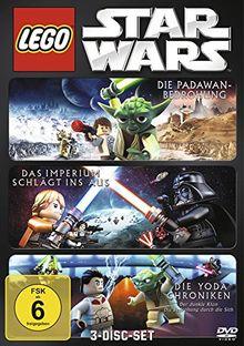 Lego Star Wars: Die Padawan Bedrohung / Das Imperium schlägt ins Aus / Die Yoda Chroniken [3 DVDs]