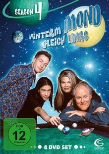Hinterm Mond gleich links - Season 4 (4 DVDs)