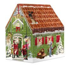Backzauber im Advent, Adventshäuschen: 24 Rezepte für eine genussvolle Weihnachtszeit