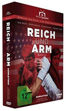 Reich und arm - Komplettbox (Staffeln 1+2 / Buch 1+2 ungekürzt) - Fernsehjuwelen [9 DVDs]