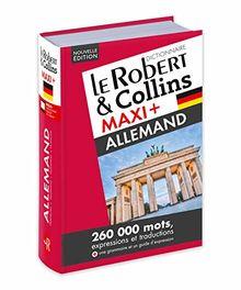 Le Robert & Collins Maxi + français-allemand / allemand-français