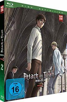 Attack on Titan - 2. Staffel - Vol. 2 [Blu-ray]