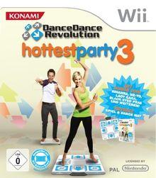 Dance Dance Revolution - Hottest Party 3 inkl. Tanzmatte (mit GameCube-Anschluss)