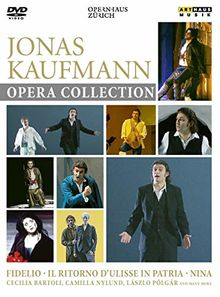 Jonas Kaufmann Opera Collection [3 DVDs]