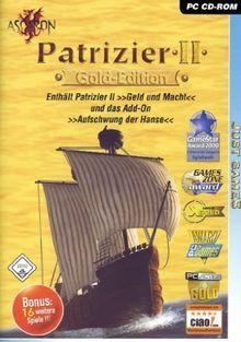 Der Patrizier 2 - Gold Edition [Just Games + 16 Bonus Spiele]