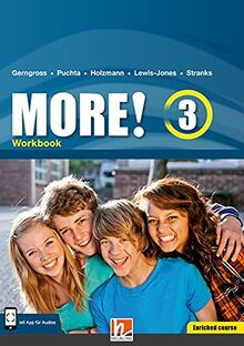 MORE! 3 Workbook Enriched Course mit E-Book+: SbNr 190839 (Helbling Languages)