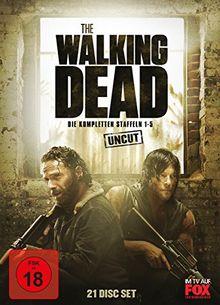 The Walking Dead - Die kompletten Staffeln 1-5 (21 Discs, Uncut)