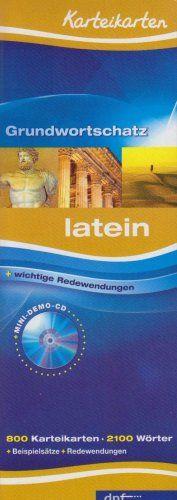 Karteikarten Grundwortschatz Latein: 800 Karteikarten.Über 2100 Stichwörter. Mit Lautschrift