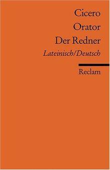 Orator /Der Redner: Lat. /Dt.: Lateinisch und deutsch