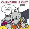 Calendrier Le Chat 2016 : Tel père, selfies