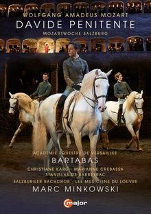 Mozart: Davide Penitente (Salzburg 2015) [DVD]