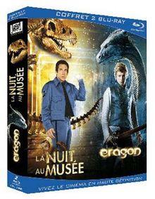 La nuit au musée + Eragon - Coffret 2 Blu-Ray [Blu-ray] [FR Import]