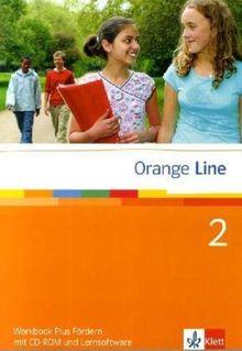 Orange Line. Workbook plus Fördern mit CD-ROM + Lernsoftware Teil 2 (2. Lehrjahr)