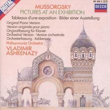 Bilder einer Ausstellung (Orchester und Klav)