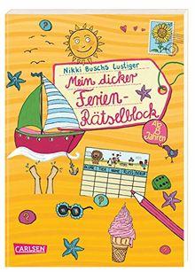 Mein dicker Ferien-Rätselblock: Band 8