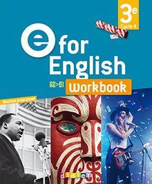Anglais 3e workbook E for english