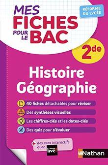 Mes fiches pour le BAC Histoire Géographie 2de