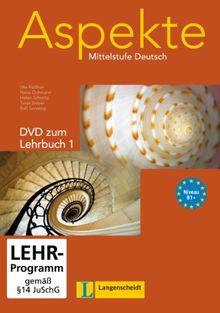 Aspekte - Mittelstufe Deutsch, Bd.1 : 1 DVD zum Lehrbuch