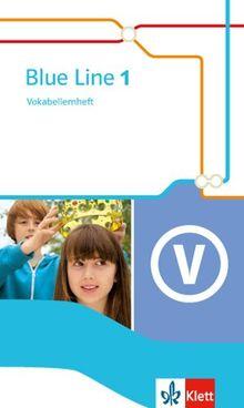 Blue Line / Vokabellernheft: Ausgabe 2014