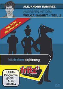 Angreifen mit dem Wolga-Gambit, englische Ausgabe, DVD-ROMSchach-Videotraining