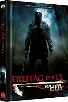 Freitag, der 13. - Killer Cut - Collector's Edition - Mediabook (Cover B) (Killer Cut Aufkleber auf Folie) [Blu-ray]