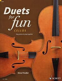 Duets for fun: Cellos: Easy pieces to play together. 2 Violoncelli. Spielpartitur.