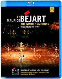 Beethoven: Symphony No 9 (Choreographie von Maurice Béjart) [Blu-ray]