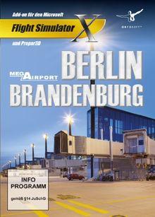 Flight Simulator X: Mega Airport Berlin & Brandenburg (Add-on)