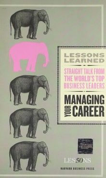 Managing Your Career (Lessons Learned)