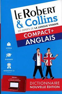 Le Robert & Collins compact + français-anglais et anglais-français : Nouvelle édition bimédia