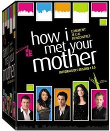 How I met your mother intégrale ; intégrale des saisons 1 a 5 [FR Import]