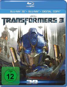 Transformers 3 - Dark of the moon (+ Blu-ray 3D) [Blu-ray]