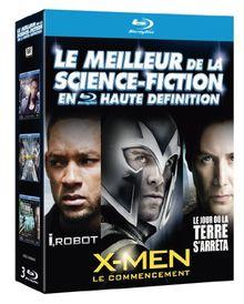 Coffret 3bluray science fiction : X-men le commencement ; I robot ; le jour où la terre s'arreta [Blu-ray] [FR Import]