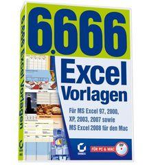 6.666 Excel-Vorlagen