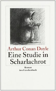 Eine Studie in Scharlachrot: Roman: Sherlock Holmes - Seine sämtlichen Abenteuer (insel taschenbuch)