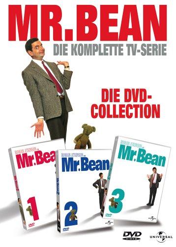 Mr Bean Frohe Weihnachten.Mr Bean Die Komplette Tv Serie Die Dvd Collection