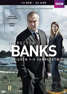 DCI Banks - Seizoen 1-5 (1 DVD)