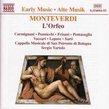 Monteverdi: L'Orfeo (Gesamtaufnahme)