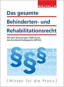 Das gesamte Behinderten- und Rehabilitationsrecht: Ausgabe 2020