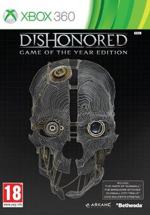 NEW & SEALED! Dishonored Game of the Year Edition Microsoft XBox 360 Game UK
