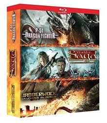 Coffret créatures dragons : p-51 ; jabberwock ; world of saga [Blu-ray]