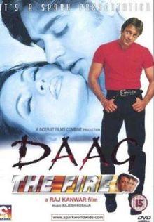 Daag - The Fire [DVD]