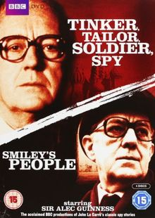 Tinker, Tailor, Soldier, Spy & Smiley's People [4 DVDs] [UK Import]