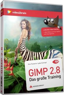 Gimp 2.8 - Videotraining (PC+MAC+Linux+iPad)