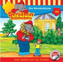 Benjamin Blümchen. Die Wunderblume. CD.