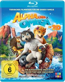 Alpha und Omega in 3D [3D Blu-ray]