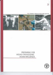 Preparing for Highly Pathogenic Avian Influenza (FAO Animal Production and Health Manual) (Fao Animal Production and Health Manuals)