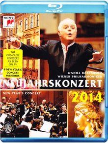 Neujahrskonzert 2014 - Daniel Barenboim & Wiener Philharmoniker [Blu-ray]