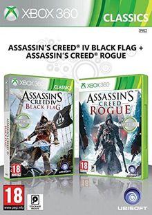 Assassin's Creed IV : Black Flag + Assassin's Creed : Rogue [Xbox 360]