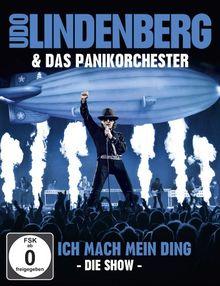 Udo Lindenberg & Das Panikorchester - Ich mach mein Ding - Die Show (+ 2 CDs) [Blu-ray]